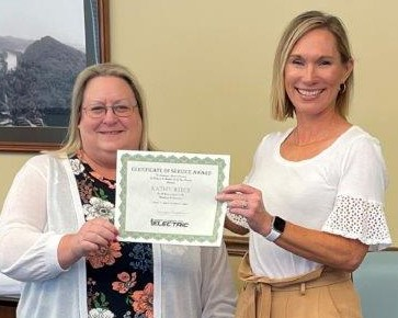 Kathy Reece celebrates 20 years of service