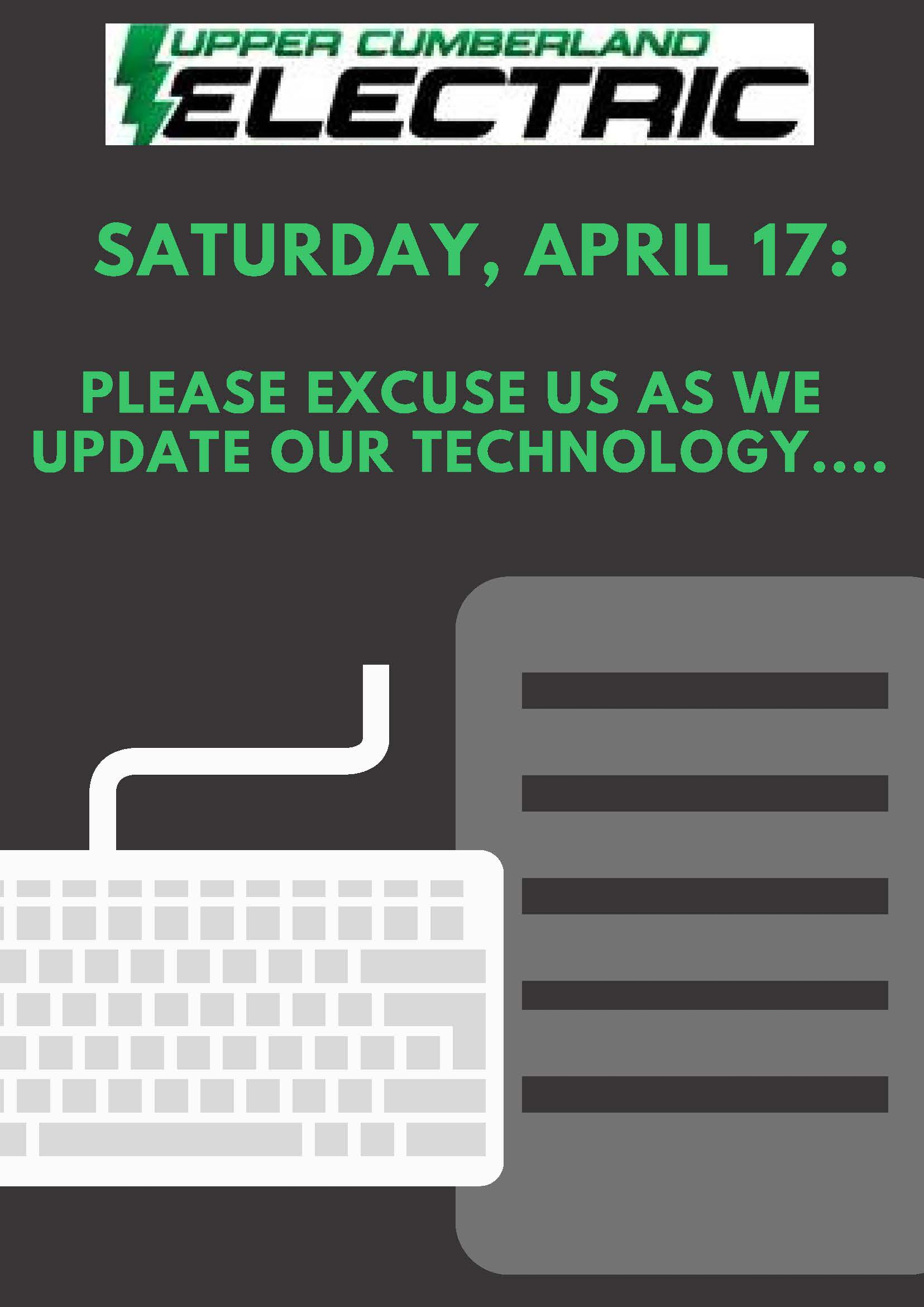 IT System Updates Set for Saturday