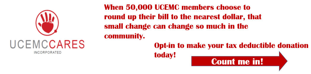 UCEMC Cares Round Up - Opt In Banner