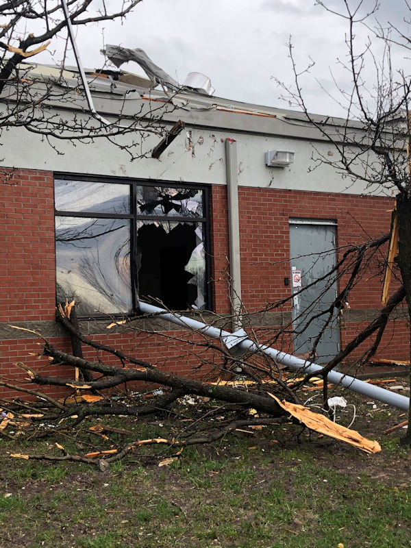 UMEMC Cookeville Office Damaged by Tornado