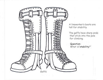 Boots Coloring Page to Color In with UCEMC