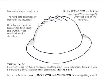 Hard Hat Coloring Page with UCEMC