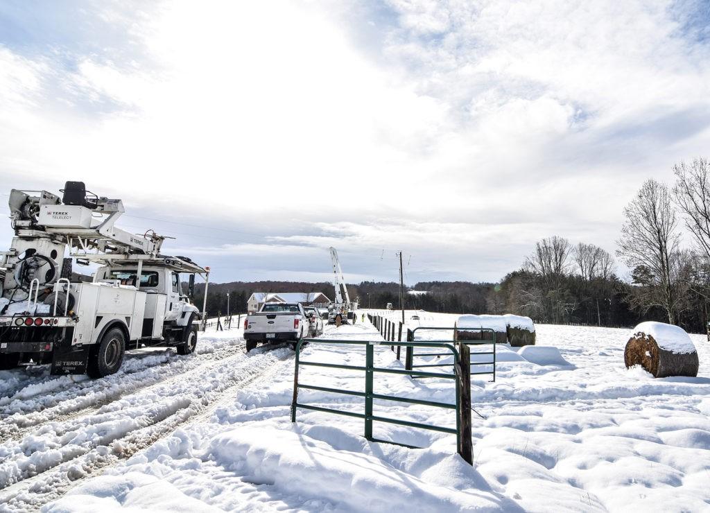 Winter Storm in North-Carolina