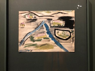 Painting by 11 year-old child killed in Auschwitz